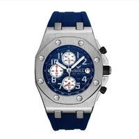 ONOLA メンズ クォーツ腕時計 日本製ムーブ搭載 43mm 4カラー