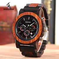BOBO BIRD ボボバード 木製腕時計 51mmビッグフェイス クォーツ腕時計
