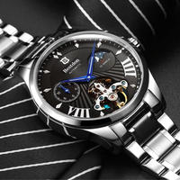 Bestdon メンズ 自動巻腕時計 スケルトン 高級デザイン 4カラー