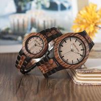 BOBO BIRD ボボバード 木製腕時計 ペアウォッチ メンズ レディース クォーツ ゼブラ柄