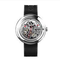 Xiaomi CIGA DESIGN Tシリーズ 機械式腕時計 自動巻 スケルトン ブラック/レッド