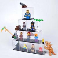 [レゴを飾るケース] ほこりが気になる方に ミニフィグ用アクリルディスプレイケース 10個セット