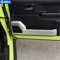 ジムニー JB74 ドアプロテクター 左右セット カーボン調/シルバー/レッド