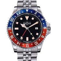 DAVOSA ダボサ メンズ クォーツ腕時計 ロレックスGMTスタイル 39mm 100m防水 ペプシカラー