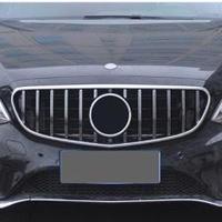 メルセデスベンツ Eクラス W212 2013-2015 パナメリカーナグリル シルバー/ブラック AMG GT GTRスタイル 社外