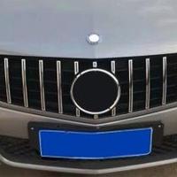 メルセデスベンツ Cクラス W204 パナメリカーナグリル シルバー/ブラック C180 C200 C250 C300 2008-2014 社外