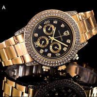 SOUTHBERG クォーツ腕時計 40mm ダイヤモンドベゼル 全8カラー