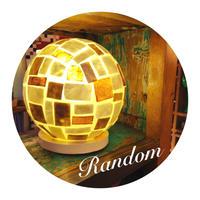 シェルボールランプ Φ22cm 《Random ランダム》( テーブル / シーリング )