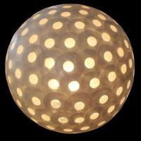 シェルボールランプ Φ22cm 《Moon White ムーンホワイト》( テーブル / シーリング )