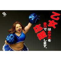 応援乙女 1/12オリジナルレジンキャストキット