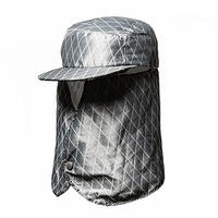 X-Hack Wax Jet Cap/Grey[MW-HT19202]