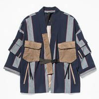 "Pique Stripe Fatigue ""Samue""/L5Indigo Stripe[MW-JKT19204]"