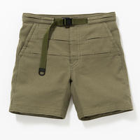 Cotton Birds Eye Waving Cord Board Shorts/KHAKI [MW-PT16105]
