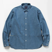 Packable Chambray Fishing SH/BLUE [MW-SH18103]