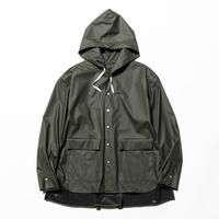Rubber Cloth Shirts Parka(Coal)/MW-SH20206
