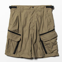 Luggage Cargo Shorts  (Beige) / [MW-PT20106]