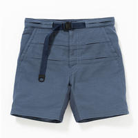 Cotton Birds Eye Waving Cord Board Shorts/NAVY [MW-PT16105]