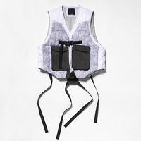 Analog Camo Down Vest/L6/Snow Camo[MW-JKT19209]