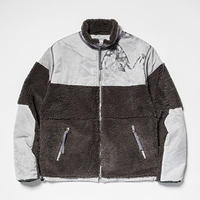 Dyed Camo Reversible Fleece/L3/Snow[MW-JKT19207]