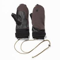 Down Cloth Mitten Glove/Charcoal[MW-AC19216]