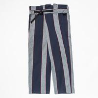 Pique Stripe Wrap PT/Indigo Stripe[MW-PT19204]
