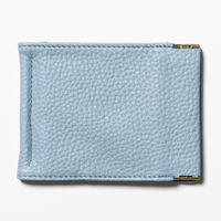 Leather Money Clip (Ice Blue) / [MW-AC20101]