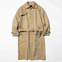 Iridescent Split Over Coat (Beige) / [MW-JKT20103]