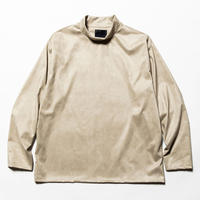 Suede Split Sleeve Mockneck(Grey)/MW-CT20201