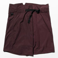 Nylon Wrap Board Shorts (Bordeaux) / [MW-PT20105]