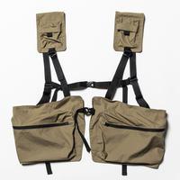 Split Luggage Vest (Beige) / [MW-JKT20108]