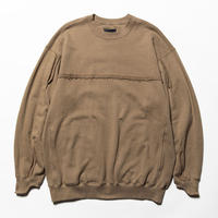 Crack Sweat Shirts(Beige)/MW-CT20205