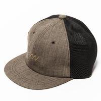 Glen Check Mesh Cap(Beige)/MW-HT20201
