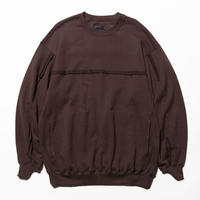 Crack Sweat Shirts(Brown)/MW-CT20205