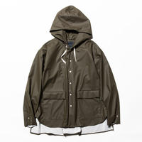 Rubber Cloth Shirts Parka(Brown)/MW-SH20206