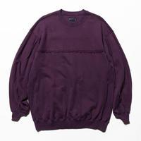 Crack Sweat Shirts(Purple)/MW-CT20205