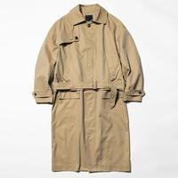 Iridescent Split Over Coat (Beige) / [MW-JKT20103]