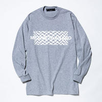 Hidden Print L/S Tee×Ray Masaki/GREY   [MW-CT19104]