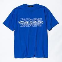 Hidden Print Tee×Ray Masaki/BLUE  [MW-CT19105]