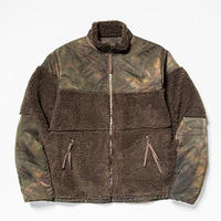 Dyed Camo Reversible Fleece/L3/Forest[MW-JKT19207]