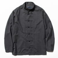 Wool Mao-Collar SH (Charcoal) / [MW-SH20101]