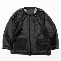 Rip Stop Mesh Pullover (Off Black) / [MW-SH20106]