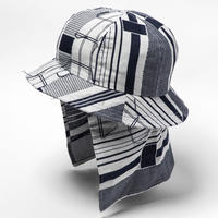 Crazy Woven Shade Cover (Navy Pattern) / [MW-HT20102]