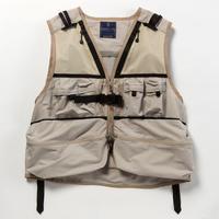 Dry Mesh Luggage Vest/BEIGE [MW-JKT18104]