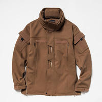 Down Cloth Uniform JKT/L5/Brown[MW-JKT19206]