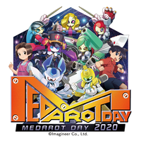 MEDAROT DAY 2020 限定ステッカー