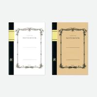 竹紙100ノート/クラシック(ホワイトとナチュラルの2冊セット)