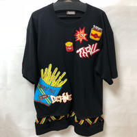 potato black tee