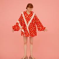 Retoro kimono dress