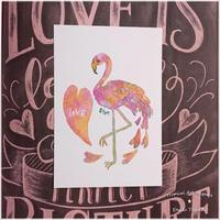 Love Flamingo