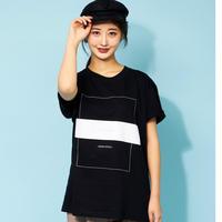 DASADA モノトーンTシャツ【ブラック】(D-032)